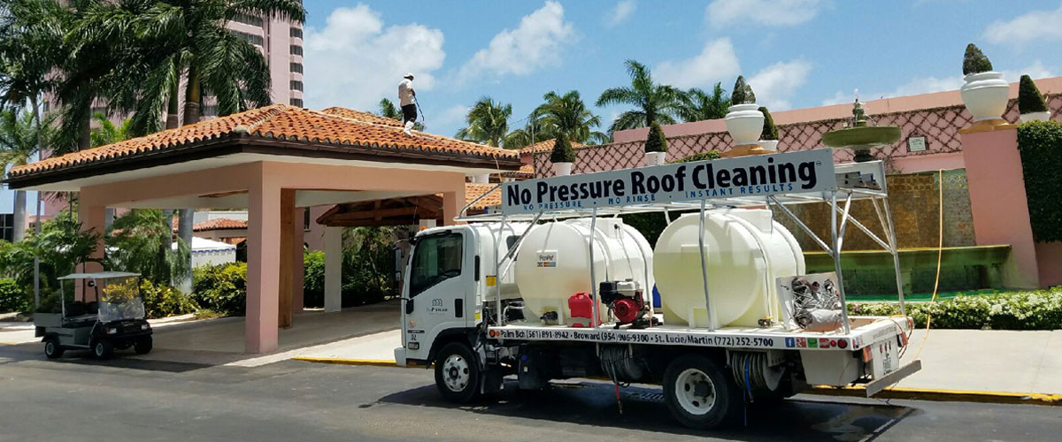 No Pressure Roof Cleaning No Rinse Chemical Roof Cleaning No Pressure Roof Cleaning South Florida We Provide The Safest And Longest Lasting Roof Cleaning Available In Palm Beach Broward St